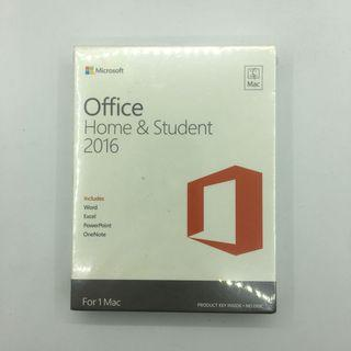 🚚 Microsoft Office Home & Student 2016 - Mac