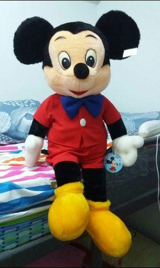 VINTAGE MICKEY MOUSE JAPAN SOFT DOLL 80'S