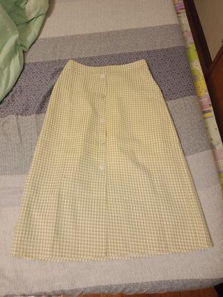 🚚 格子8分鉛筆裙✨