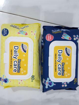 🚚 Korean organic premium Baby Wipes * brand new fresh