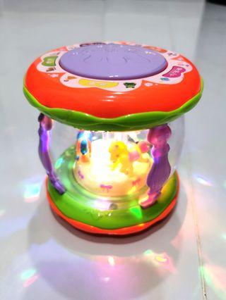 Musical Story Telling and Music Merry Go Round Toy