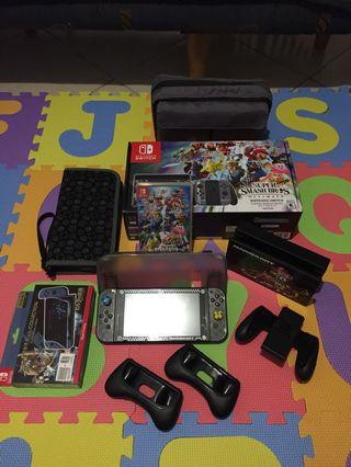 Nintendo Switch SSBU Bundle