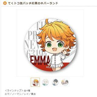 (Closed) The promised neverland can badges