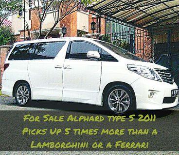 Toyota Alphard S 2,4 2011