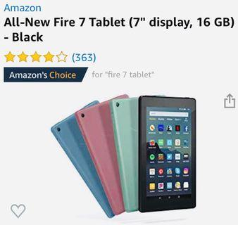 NEW 9th Gen Amazon Fire 7 Latest Model aka Kindle Fire