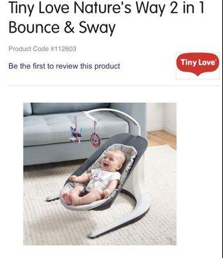Tiny Love Nature's Way 2 in 1 Bounce & Sway