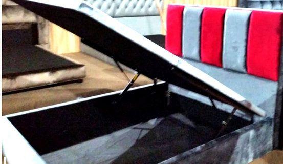 Fabric Storage Bedframe