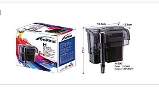 Dophin power filter H-500