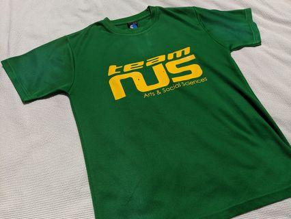 Green dry fit sports tee