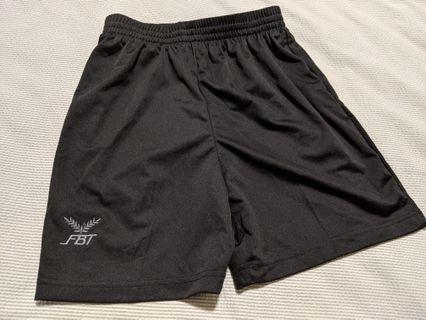 Black FBT Shorts