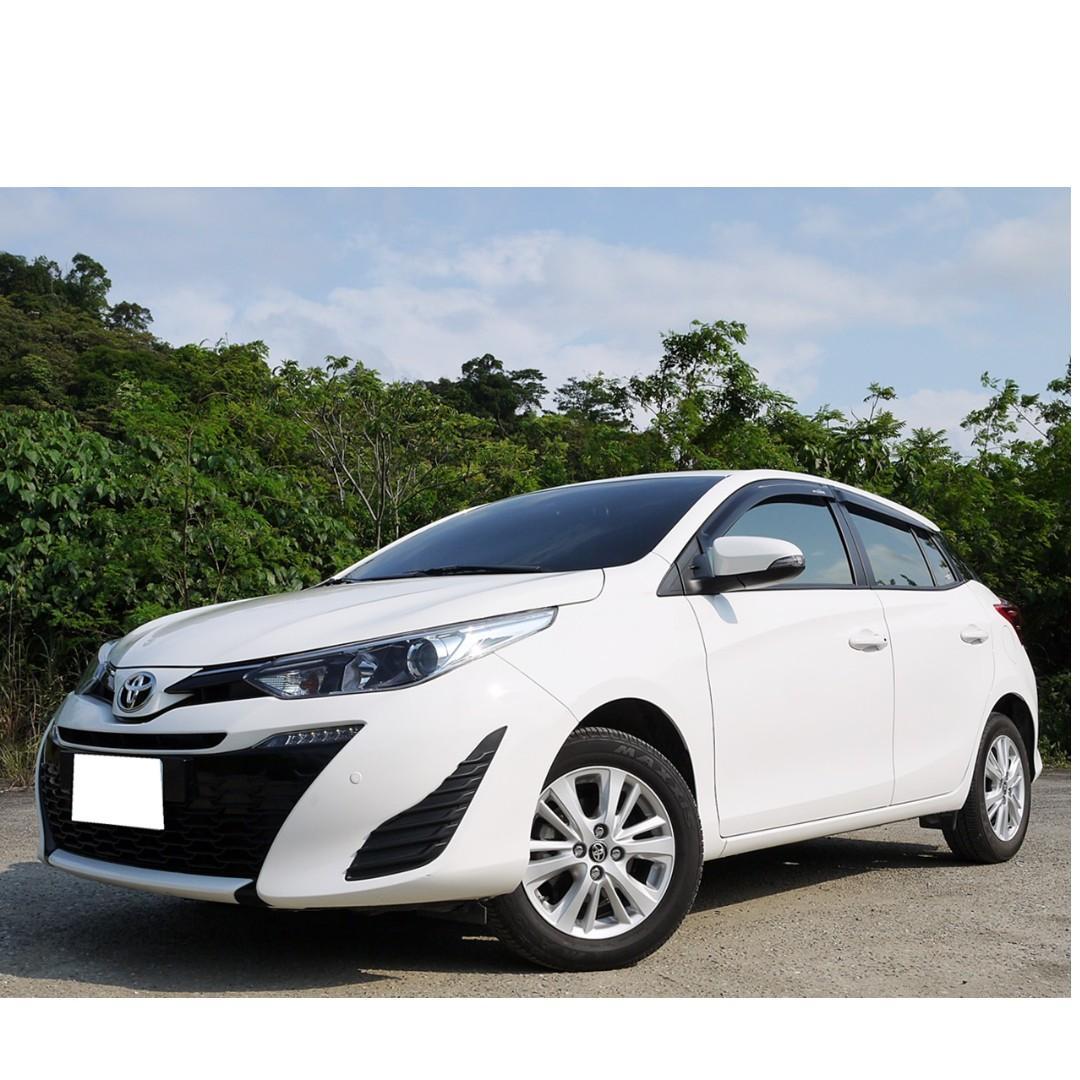 全額貸款-2018年 豐田 YARIS 1.5頂級 全新款 新車保固中 原漆原鈑件