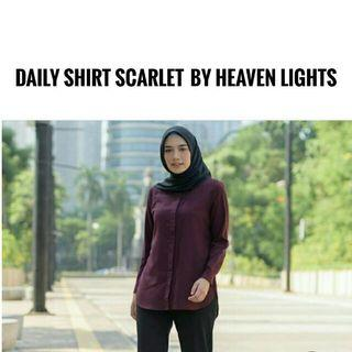 Daily Shirt Scarlet By HL