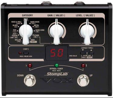 vox stomplab 1g guitar multi effects