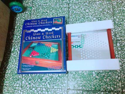 棋 木盒  波子棋 Chinese Checkers
