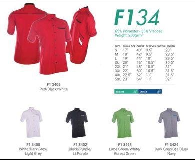 Corporate Shirt for (MEN) F1 34 - by Oren Sport