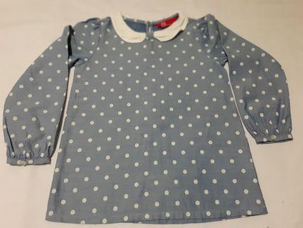 PDI Kids Polka Dot Blouse
