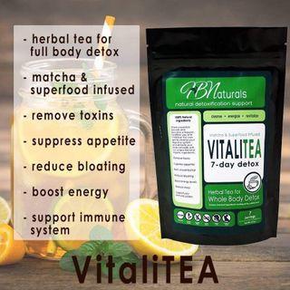 Energy & Detox VitaliTea (Selling Fast)