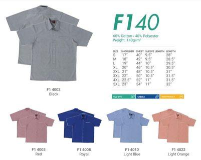 Corporate Shirt for (MEN) F1 40 - by Oren Sport