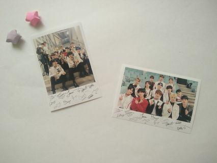 Seventeen Polaroid Card Set (Set 9)