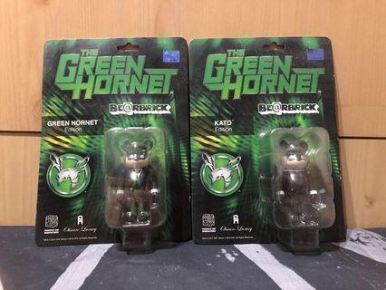 青蜂俠 PHANTACi x BE@RBRICK 100% THE GREEN HORNET Green Hornet / Kato