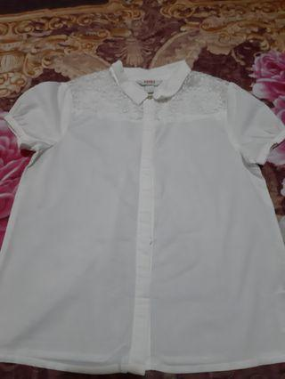 Poney White Blouse