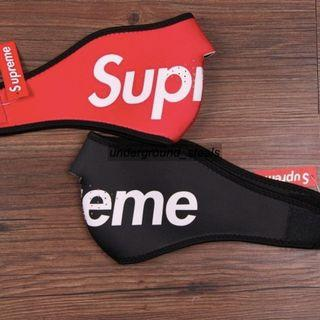 Supreme Logo Facemask