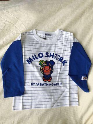 Brand new with tags baby milo tee