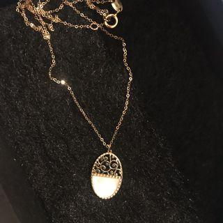 14K gold necklace made in Italy