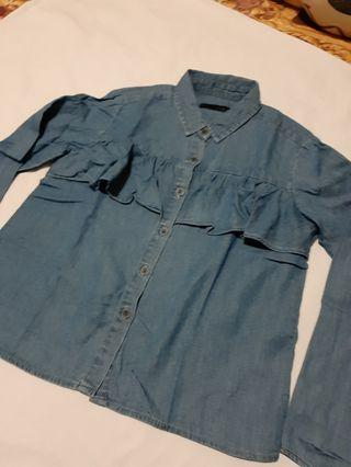 SEED Kids Jeans Blouse