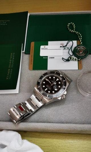 🚚 Rolex red sea dweller 126600