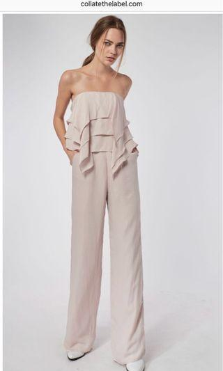 COLLATE Layered Frills Jumpsuit