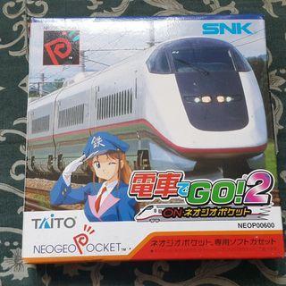 (全新品) NEOGEO POCKET 電車GO ! 2 日版 SNK TAITO  深水埗站交收