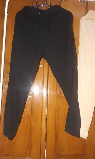 Cottonink Jonquil Black Pants