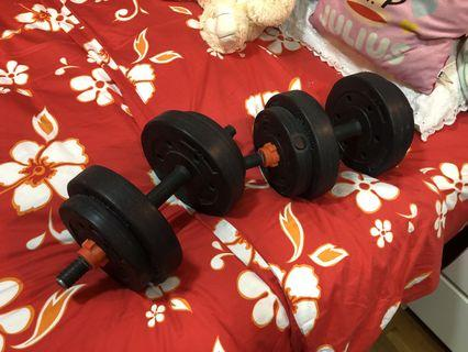 Dumbbell set SALE 8kg pair