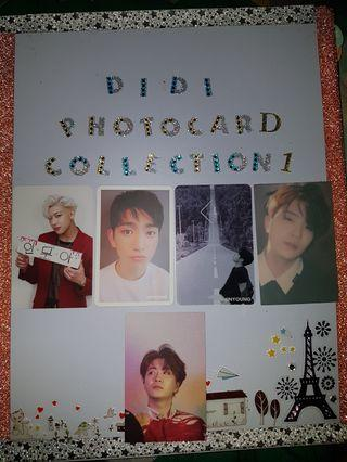 [WTS]GOT7 photocards