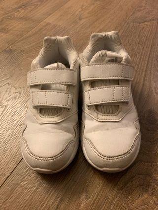 Adidas white sneakers US 11.5