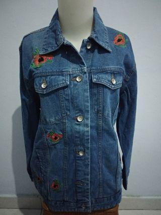 Jacket Jeans Bigsize
