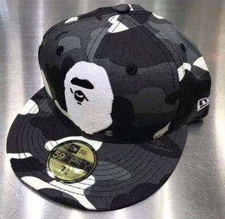CITY CAMO APE HEAD NEW ERA CAP