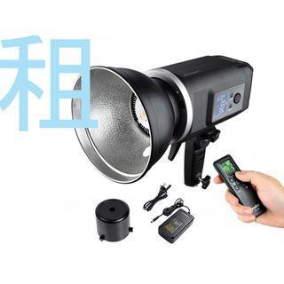 (台北/劍潭)RENT/出租 電池式 外拍燈/電影補光/婚攝 GODOX 神牛 SLB-60W LED燈 白光版