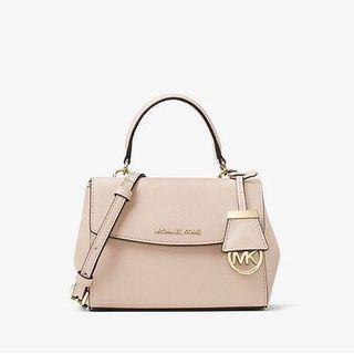 MICHAEL KORS Ava Extra-Small Saffiano Leather Crossbody粉紅色 有7隻顔色