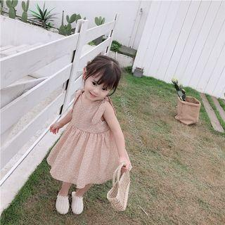 🚚 ⭐INSTOCK⭐ White Polkadots Ribbon-Tied Sleeve Chiffon Dress