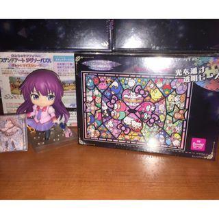 (特價) 全新 現貨 透光 Puzzle Sanrio 人物集合 208 pieces 18.2x25.7cm Hello Kitty 布甸狗 玉桂狗 My Melody Little Twin Stars 動漫 砌圖 拼圖