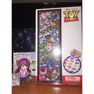 (特價) 全新 現貨 透光 Puzzle TOY STORY 反斗奇兵 迪士尼 456 pieces 18.5x55.5cm Disney 胡迪 巴斯 動漫 砌圖 拼圖