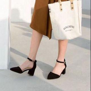 【近全新】ZALORA|Twenty Eight Shoes 尖頭中踭鞋883-1|高跟鞋6cm|附原裝盒|附防塵袋