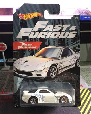 🚚 Fast & Furious '95 Mazda RX-7
