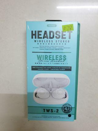🚚 REMAX HEADSET WIRELESS TWS-2
