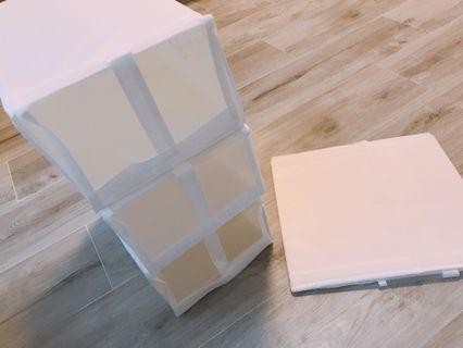 摺疊鞋盒(一套4個)