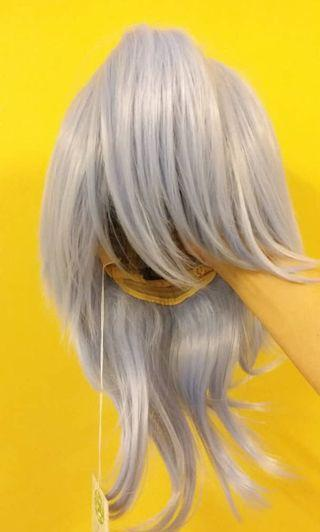 Cosplay Wig Blue Medium length