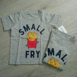 NEW  12M Carter's Boy Short Sleeve Graphic T Shirt