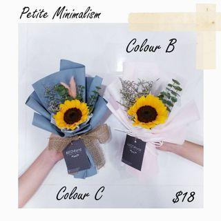 🚚 #187 | Single Stalk Sunflower Bouquet | Graduation | Convocation 2019 | Birthday | Anniversary | Message Card Included | Flower Delivery Provided